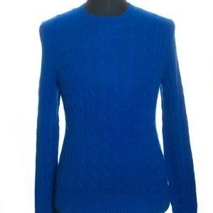 Polo Ralph Lauren Royal Blue Pure Cashmere Sweater